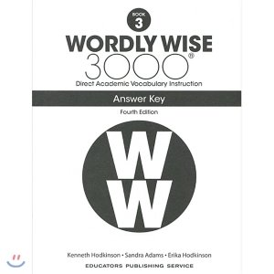 Wordly Wise 3000 4E 3 Answer Key