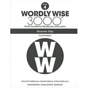 Wordly Wise 3000 4E 4 Answer Key