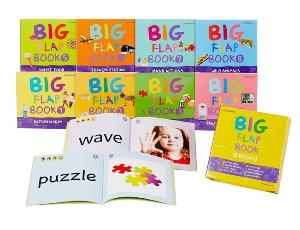 Little Smarty English Big Flap Book (8권)