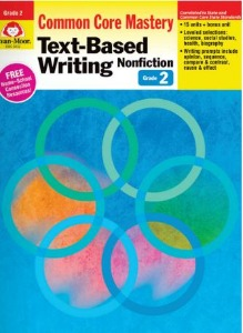 Common Core Mastery : Text-Based Writing Grade 2