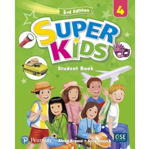Super Kids 4 Student Book 3E