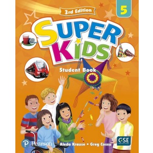 Super Kids 5 Student Book 3E