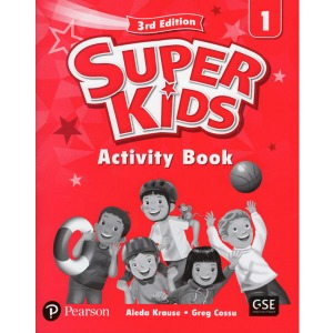 Super Kids 1 Activity Book 3E