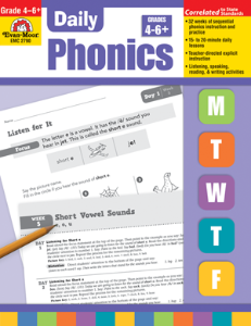 Daily Phonics Grade 4-6+ Teachers Edition