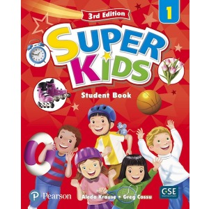 Super Kids 1 Student Book 3E