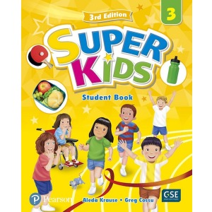Super Kids 3 Student Book 3E