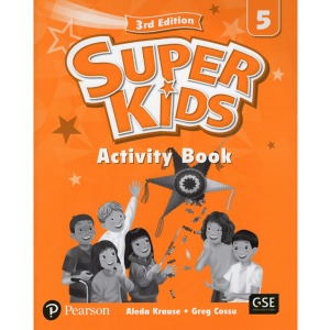 Super Kids 5 Activity Book 3E