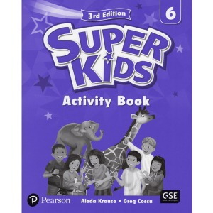 Super Kids 6 Activity Book 3E