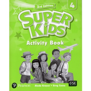 Super Kids 4 Activity Book 3E