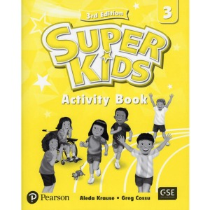 Super Kids 3 Activity Book 3E