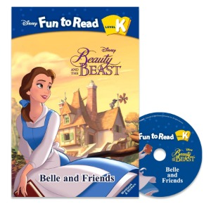 Disney FTR Set K-13 / Belle and Friends (Beauty and the Beast)