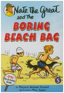 NTG 05 / Nate the Great and the Boring Beach Bag