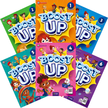 Boost Up Student Book Set (1~6)