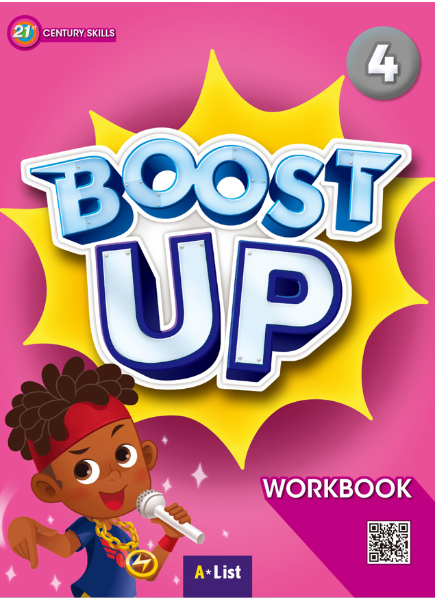 Boost Up Workbook 4