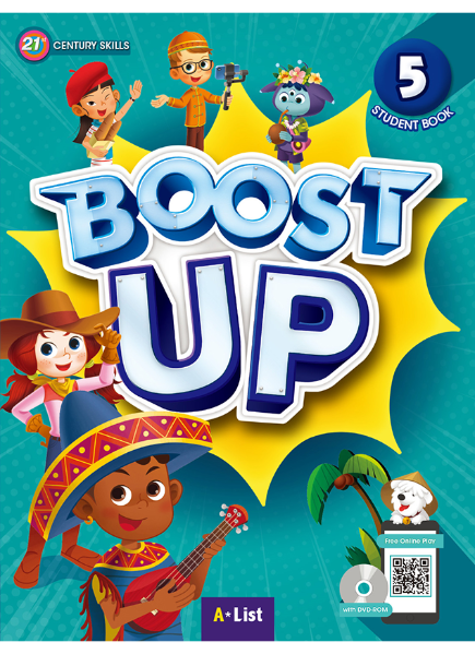 Boost Up Student Book 5