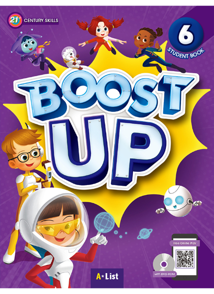 Boost Up Student Book 6