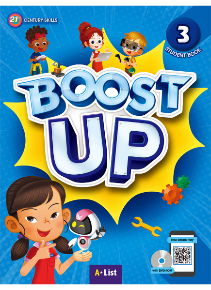 Boost Up Student Book 3