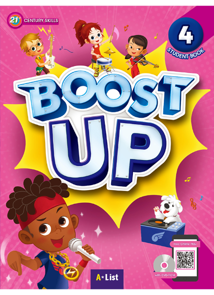 Boost Up Student Book 4