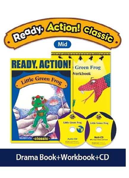 Little Green Frog, Pack (Ready, Action! Classic)